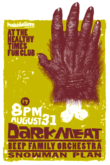 Dark Meat; Poster