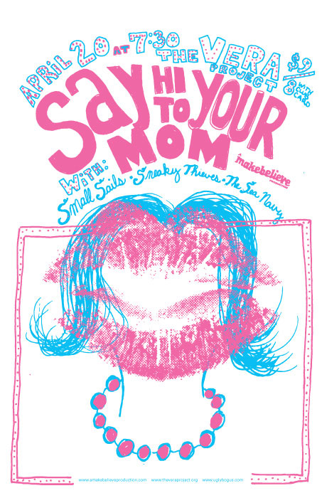 Say Hi To Your Mom; Poster
