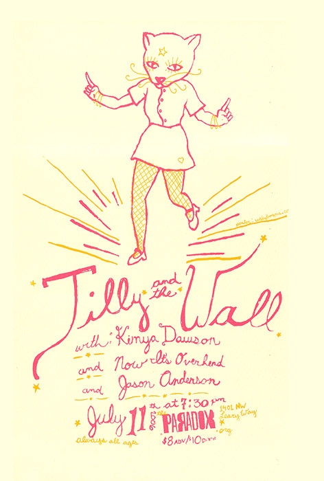 Tilly and the Wall; Poster